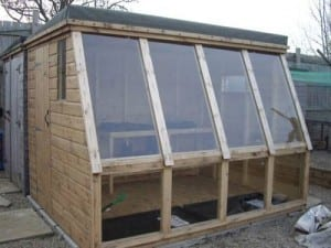 bespoke potting sheds