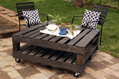 how to make a coffee table out of pallets for the garden - Garden Furniture Out Of Pallets