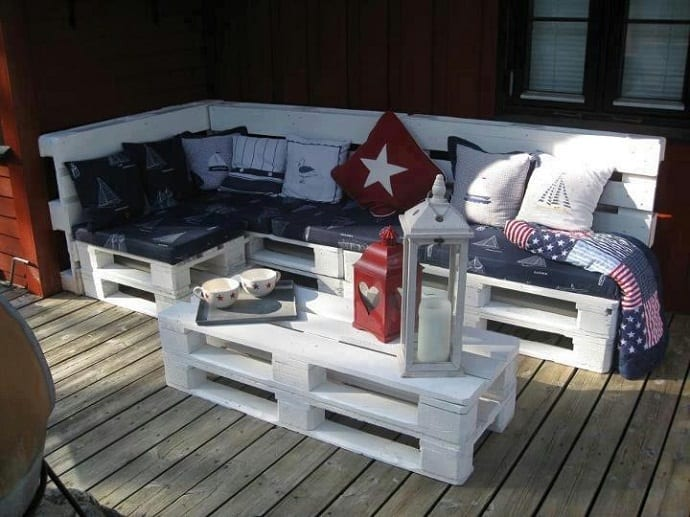 Good Outdoor Sofas From Wooden Pallets Part 11