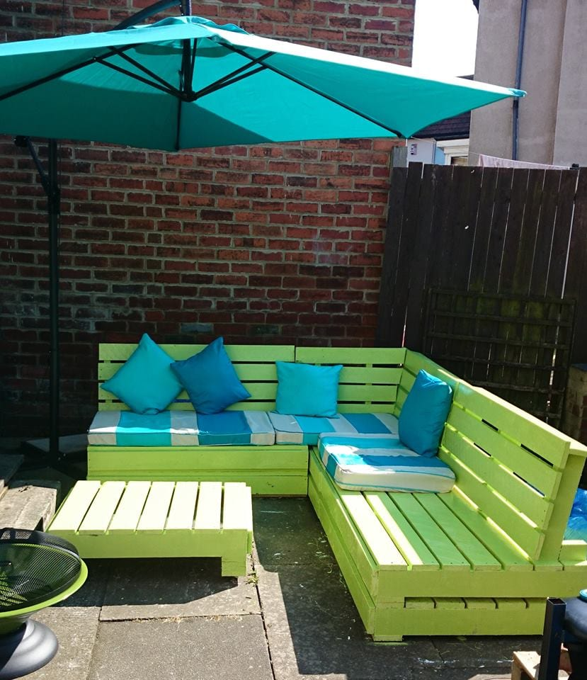 Try for yourself   making your own furniture out of pallets. Garden Furniture From Wooden Pallets   Timber Packing Cases